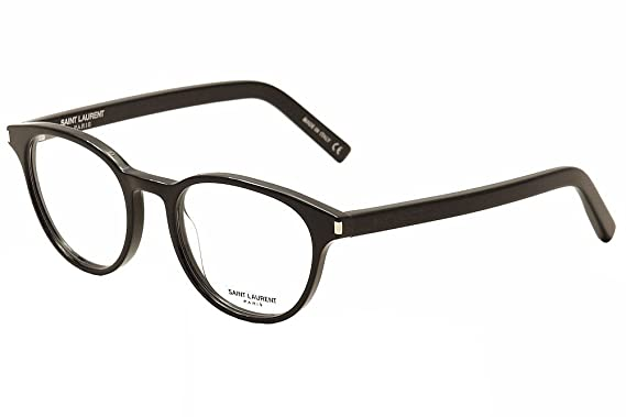 e6ed0ca45c Saint Laurent Eyeglasses Classic 10 005 Black Transparent Optical Frame 50mm
