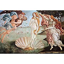 The Birth of Venus, c. 1485 Poster by Sandro Botticelli 36 x 24in