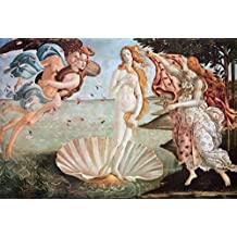 The Birth of Venus, c.1485 Art Poster Print by Sandro Botticelli, 36x24 Collections Art Poster Print by Sandro Botticelli, 36x24