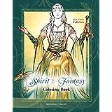 Spirit & Fantasy Coloring Book: Black & White Edition
