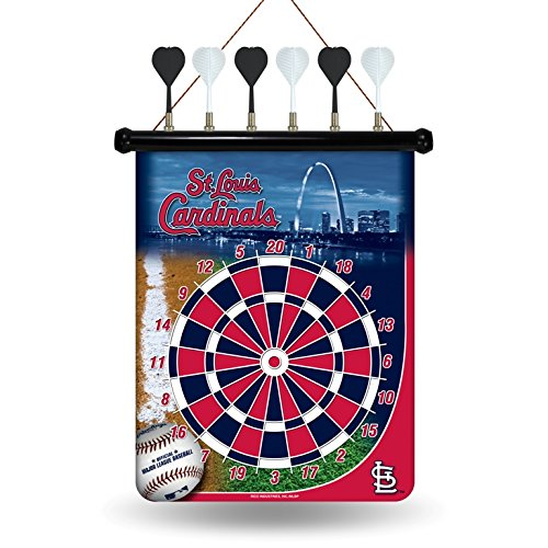MLB St. Louis Cardinals Magnetic Dart Board