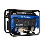 Westinghouse WGen2000 Portable Generator - 2000 Rated Watts & 2500 Peak Watts - Gas Powered - CARB Compliant