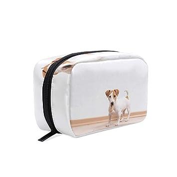 088f52744e39 Jack Russell Terrier Puppy Cosmetics Bag Makeup ... - Amazon.com