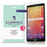 iLLumiShield - LG G Stylo Matte Screen Protector with Lifetime Replacement Warranty / Anti-Glare HD Clear Film / Anti-Bubble & Anti-Fingerprint / Premium Japanese High Definition Invisible Crystal Shield - [3-Pack] Retail Packaging