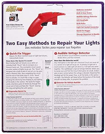 Ulta Lit Light Keeper PRO 01201 The Complete Tool for Fixing ...