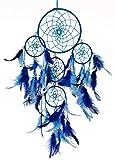 Rooh dream catcher ~ Blue 4 Tier ~ Handmade Hangings for Positivity