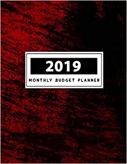 2019 monthly budget planner notebook finance planner binder money