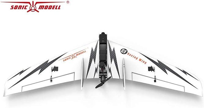 ZOHD SonicModell CF Wing 1030mm Envergadura RC FPV Avi/ón KIT de ala fija Blanco