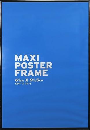 black 61x915cm 24x36 inch maxi poster frame