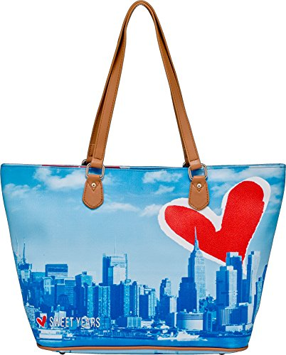 Borsa A Spalla SWEET YEARS blu