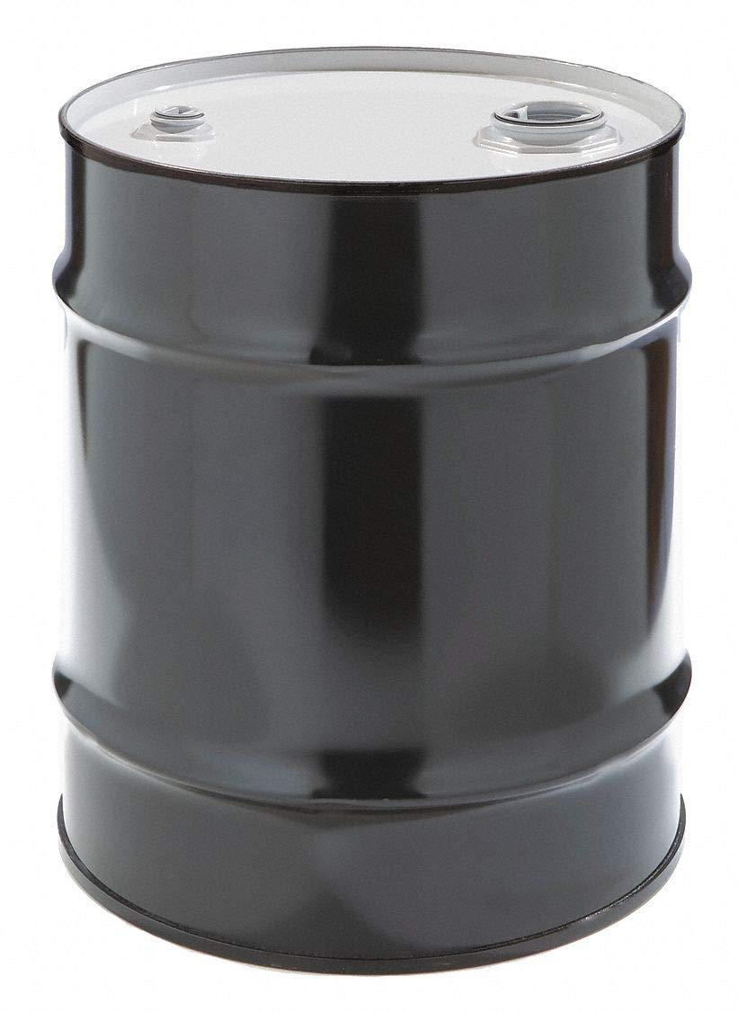 Transport Drum, Closed Head, 10 gal., Black