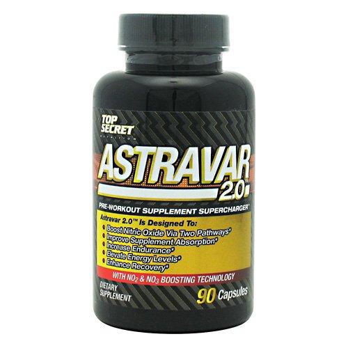 Top Secret Питание Astravar 2,0 - 90 Капсулы