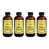 Swanson Elderberry Extract Syrup 8 fl oz Liquid 4 Pack