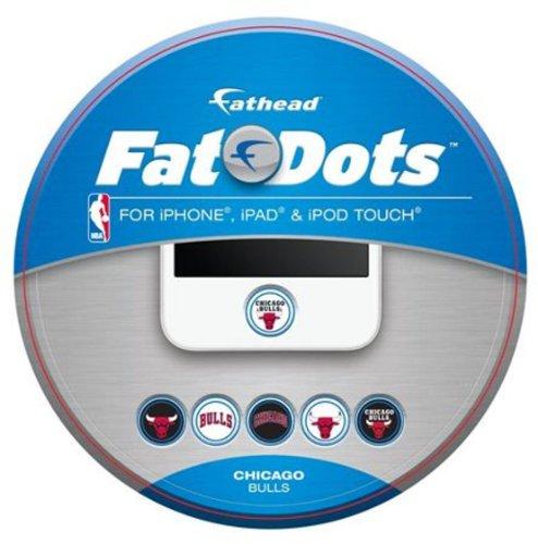 Fathead Chicago Bulls Logo Fat Dots