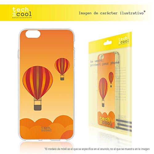 Iphone 7 Coque, Funnytech® Housse premium Souple TPU Silicone pour Iphone 7 l [couleurs très vives] [Design exclusif, Impression haute définition] [Ultra Mince 1,5mm] [Souple]
