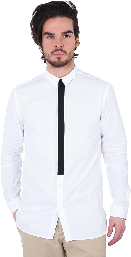 JACK & JONES Jordan, Camisa para Hombre, Blanco L: Amazon.es ...