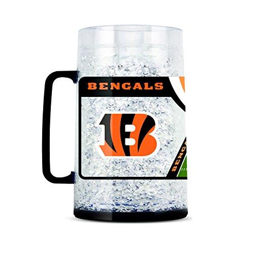 NFL Cincinnati Bengals 38oz Crystal Freezer Monster Mug