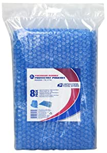 LePage's USPS Bubble Pouches, 7 x 11 Inches, Blue, 8 Pack (81471)
