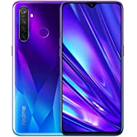 Realme 5 pro 4G 128G Mobile Phone Android, Quad Camera Speedster, 6.3 inch dew-drop fullscreen, 4035mAh batterie and VOOC charging power Type-C, ColorOS 6 realme edition
