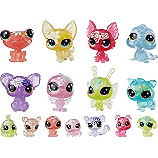 Littlest Pet Shop Blooming Bouquet, 16 Pets, Part of The Lps Petal Party Collection