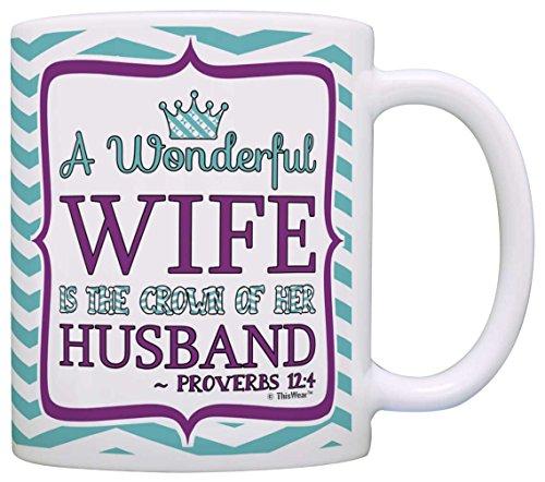 Christian Husband Religious Coffee Chevron