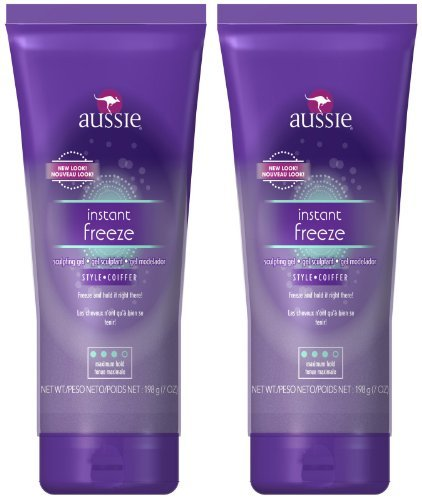 Aussie Instant Freeze Sculpting Gel, 7 oz, 2 pk