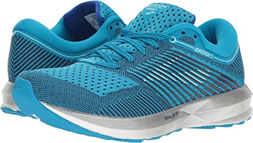 Brooks Women's Levitate Blue/Mint/Silver 6 B US