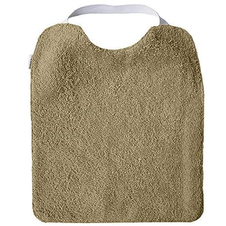 Pack 5/bavoirs en tissu /éponge Garderie avec /élastique pour encourager autonomie bavoir avec caoutchouc cou lavables avec Int/érieur imperm/éable et /éponge Maximale qualit/é fait en Espagne fille