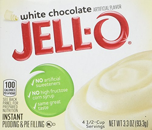 Filling White Chocolate (Jell-O White Chocolate, Instant Pudding & Pie Filling, 3.3 oz)