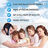 Anti-Snoring Chin Strap - Jaw Support Belt - Chin