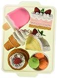 IWAKO Japanese Eraser Dessert Set - Colors Vary