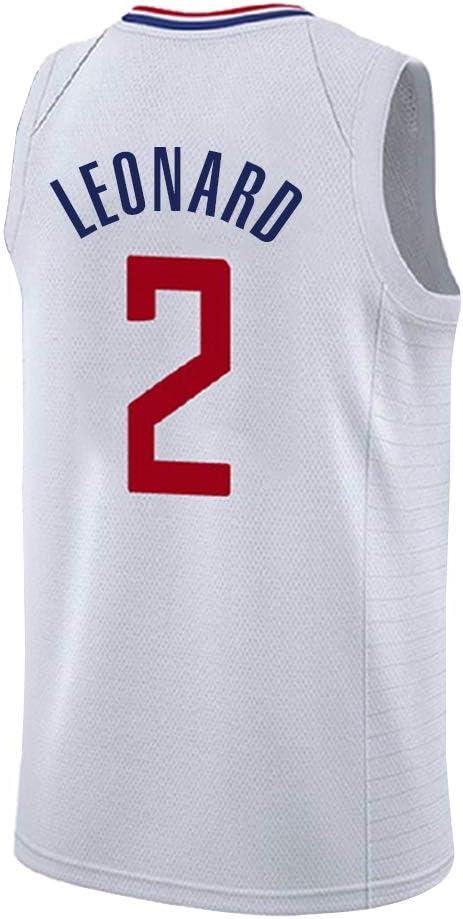 Camiseta Los Angeles Clippers Leonard No. Camiseta de Baloncesto Leonard # 2 para Hombre, Camiseta de Baloncesto clásica, sin Mangas, para Hombre y Mujer, Blanco, XS: Amazon.es: Deportes y aire libre