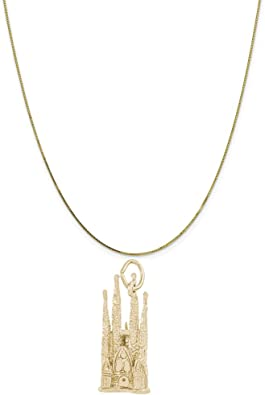 18 or 20 inch Rope Rembrandt Charms Sterling Silver Angel Wings Accent Charm on a 16 Box or Curb Chain Necklace