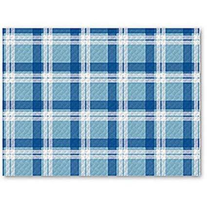 100 Toallas Papel Azul Blanca coprimacchia desechable cm 100 x 100 Pizzeria restaurante: Amazon.es: Hogar