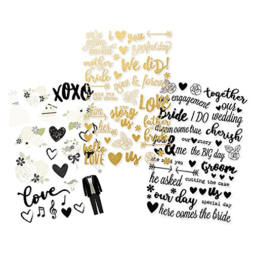 Simple Stories 10076 Always & Forever Clear Stickers