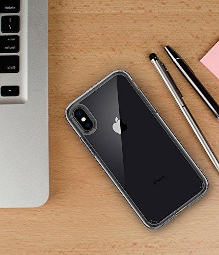 buy online 38773 2979c Spigen Ultra Hybrid Designed for Apple iPhone X Case (2017) - Space Crystal
