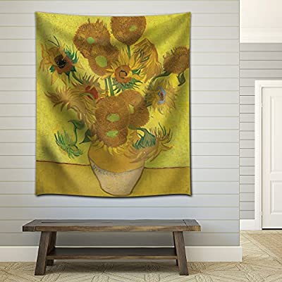Amazing Portrait, Sunflower by Vincent Van Gogh, Created By a Professional Artist