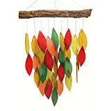 Gift Essentials Fall Colors Waterfall Wind Chime
