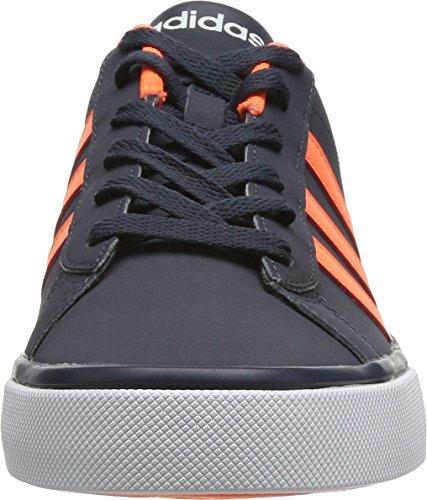 adidas Neo DAILY TEAM Blau Orange Herren Sneakers Schuhe Neu