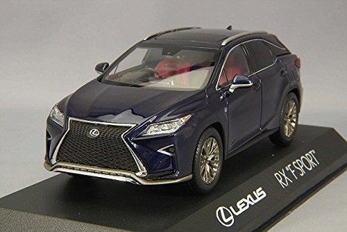 Lexus Dealer (Kyocera dealer original 1/43 LEXUS RX200t F SPORT deep blue MICA)