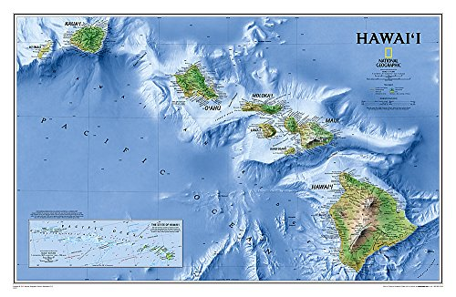 Hawaii [Tubed] (National Geographic Reference Map)