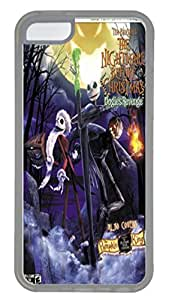 iPhone 5C Case and Cover VUTTOO Tim Burton S The Nightmare Before Christmas Bradygames PC case Cover for iPhone 5C ¡§C Transparent
