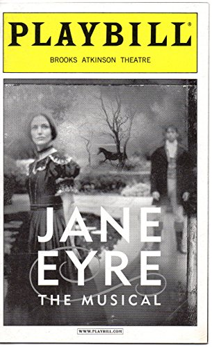 JANE EYRE The Musical Playbill for the Original Broadway Production - Brooks Atkinson Theatre - March 2001