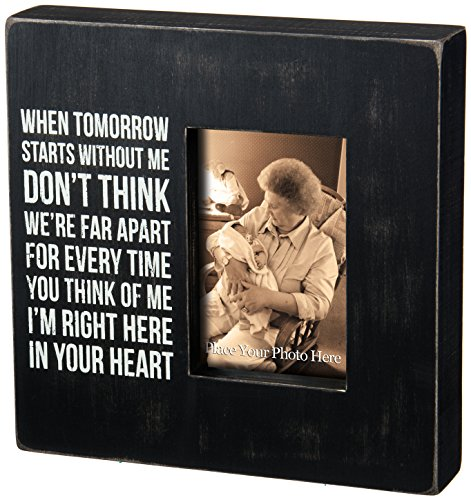 Primitives by Kathy Classic Box Frame, 10 x 10-Inches, in Your in Your Heart (Large Primitive Pictures)