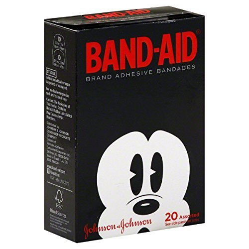 - Band-aid Bandages Disney Mickey Mouse 20-Count (Pack of 3)