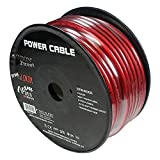 Orion Ztreet 4 Gauge Power Wire Red 100' roll