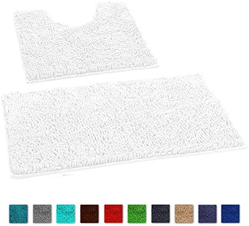 LuxUrux Bathroom Chenille Microfiber Absorbent product image