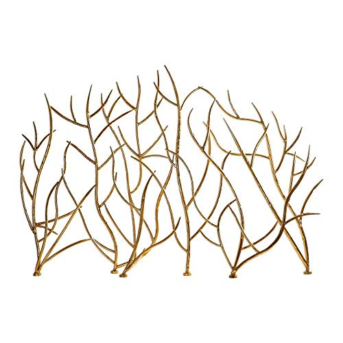 - Uttermost 18796 Gold Branches Decorative Fireplace Screen