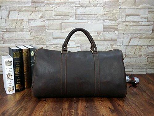 DJB/Leder Die Man Tasche Retro Wildleder Leder Schulter Handtasche Crazy Horse Leder Business Tasche Bulk