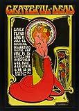 Grateful Dead 1960's Art Nouveau Poster 10 X 14 Inches